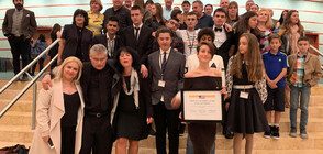 Български ученици с почетна награда от джаз фестивал в САЩ (ВИДЕО+СНИМКИ)