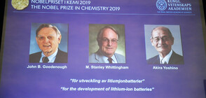 Трима си поделят Нобеловата награда по химия (ВИДЕО+СНИМКИ)