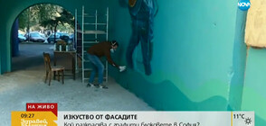 Кой разкрасява с графити блоковете в София?
