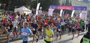 Маратон затвори големи пътни артерии в София (ВИДЕО)
