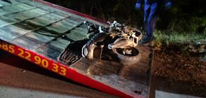 17-годишен моторист загина край Симитли (ВИДЕО+СНИМКИ)