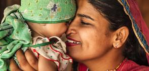 Бебе в Индия оцеля след три дни в делва под земята
