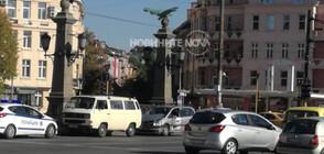 """Катастрофа затрудни за кратко движението на """"Орлов мост"""" (СНИМКИ)"""