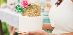 Сладкари направиха торта от 14-каратово злато