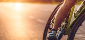 Американец измина 80 км, карайки велосипед на задното му колело (ВИДЕО)