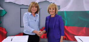 Фандъкова и Манолова в предизборен дебат по NOVA (ВИДЕО+СНИМКИ)