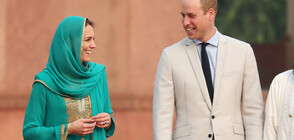 Кейт и Уилям играха крикет и посетиха джамия в Пакистан (СНИМКИ)