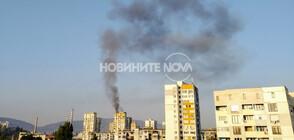 Трима пострадаха при пожар в блок в София (ВИДЕО+СНИМКИ)