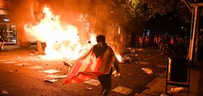 Заради протестите в Каталуния: Отмениха десетки полети в Испания (ВИДЕО)