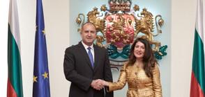 Румен Радев и Херо Мустафа обсъдиха инвестиционното сътрудничество между България и САЩ