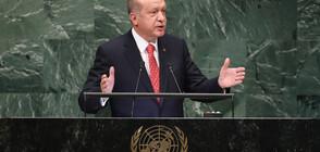 Ердоган: Турция е в Сирия заради тези, за които нефтът е по-важен от кръвта