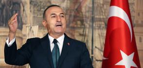 """Чавушоглу: Турция прекрати офанзивата си """"Мирна пролет"""" в Сирия"""