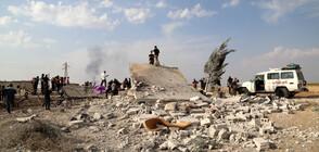 Руски части се разполагат на турско-сирийската граница