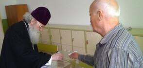 Патриарх Неофит упражни правото си на вот