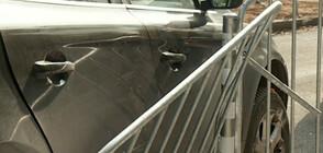 Няколко коли се удариха на новоремонтирано кръстовище в София