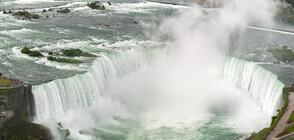 101-годишна баржа може да падне в Ниагарския водопад (СНИМКИ)