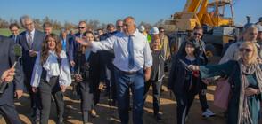 Борисов: Догодина ще можем да доставяме втечнен газ от пет страни (ВИДЕО+СНИМКИ)