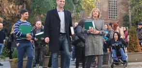 Мая Манолова внесе жалба за касиране на вота в София (ВИДЕО+СНИМКИ)