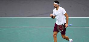 Изтеглиха жребия за ATP Cup: Гришо предвожда отбора на България