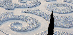 Тежка зима скова Югоизточна Франция (ВИДЕО+СНИМКА)