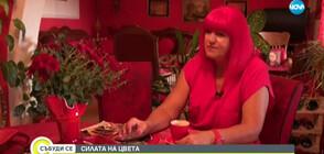 СИЛАТА НА ЦВЕТА: Жената, чийто живот е белязан от червеното (ВИДЕО)