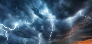 Мощна буря връхлетя крайбрежието на Хърватия (ВИДЕО)