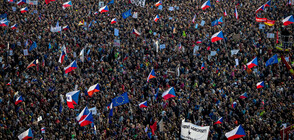Стотици хиляди на протест срещу чешкия премиер (ВИДЕО+СНИМКИ)
