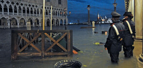 Новоднението във Венеция е най-голямото за последния век (ВИДЕО+СНИМКИ)