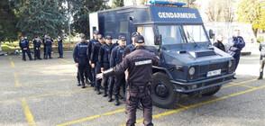 Стажант-полицаи от Пазарджик проведоха практическо занятие (СНИМКИ)