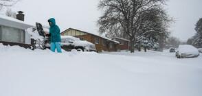 Снежни бури объркаха плановете на милиони американци за Деня на благодарността (ВИДЕО+СНИМКИ)