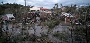 Тайфунът Камури взе жертви във Филипините (ВИДЕО+СНИМКИ)