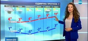 Прогноза за времето (03.12.2019 - централна)