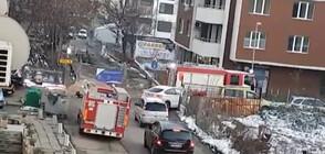 Пожарни коли се оказаха заложници на градска блокада в София (ВИДЕО)