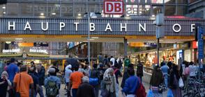 Атака с нож на централната гара в Мюнхен, ранен е полицай (ВИДЕО)