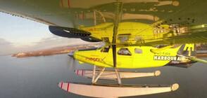 За първи път в света се извърши полет с електрически самолет (ВИДЕО)