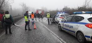 Тежка катастрофа с два микробуса затвори пътя Русе-Бяла (ВИДЕО+СНИМКИ)