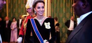 Кралски стил и впечатляваща Кейт Мидълтън на прием в Бъкингамския дворец (СНИМКИ)