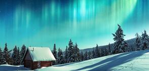 ОТВЪД ПОЛЯРНИЯ КРЪГ: Българин гони северното сияние в Лапландия (ВИДЕО)