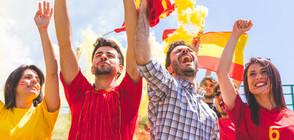Спряха футболен мач заради политически скандирания