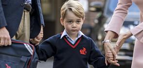 Какво иска принц Джордж от Дядо Коледа?