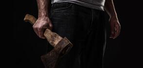 Мъж с брадва нахлу в данъчна служба и рани трима (ВИДЕО+СНИМКА)