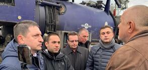 Икономическа полиция ще проверява кой е източил водата в Перник (ВИДЕО+СНИМКИ)