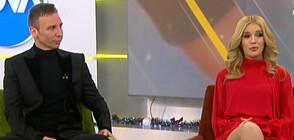 Нели Петкова и Виктор Калев заснеха коледен видеоклип