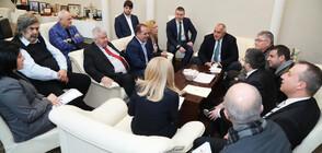 Премиерът Бойко Борисов се срещна с превозвачите