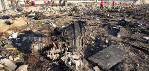 Украинският самолет край Техеран е бил свален с две зенитни ракети