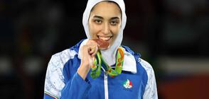 Най-известната спортистка на Иран избяга от страната
