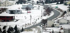 Тежък сняг и ветрове със скорост до 140 км/ч в Канада (ВИДЕО)