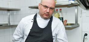 Шеф Манчев се справя с лястовичи гнезда на крайпътно заведение