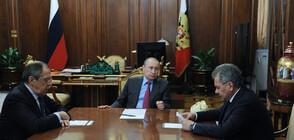 Путин назначи новото правителство на Русия (ВИДЕО)