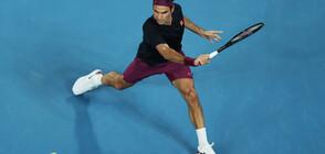 Федерер продължава по план, даде само 6 гейма на Крайнович (ВИДЕО+СНИМКИ)